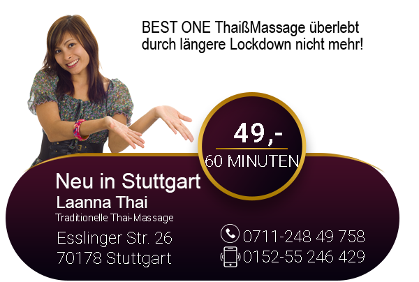 Mix Thai- u. Ölmassage bei uns im Best One Thaimassage Stuttgart